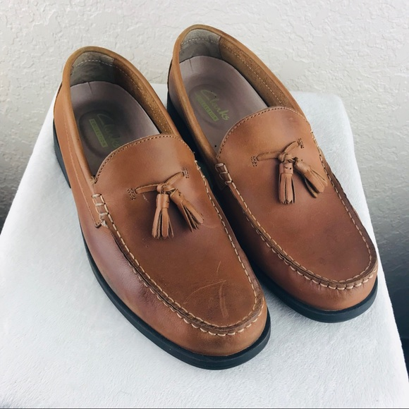 Clarks Collection Mens Tassel Loafers